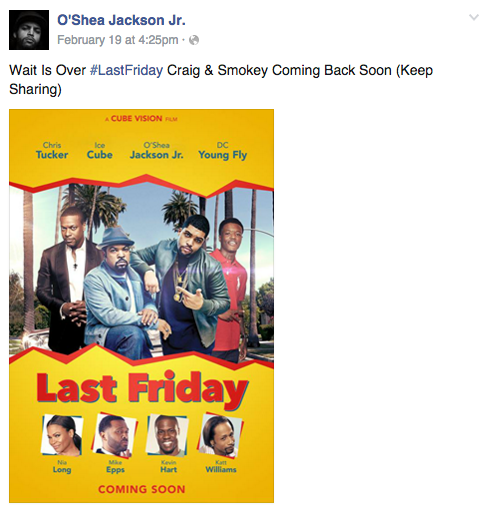 Displaying 19> Images For - Last Friday Movie Release Date...
